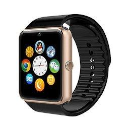 Willful SW016 Bluetooth Smart Watch With Camera Sim Card Slot Tf Card Slot Pedometer Sleep Monitor C