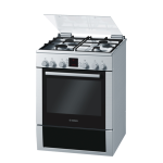 Bosch Gas Electric 60CM Stove S S