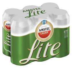 Amstel Lite Can 440ml X6   R   Beer   PriceCheck SA