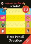 First Pencil Practice: Ladybird I'm Ready To Write Sticker Activity Book