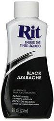 RIT Dye Liquid Fabric Dye 8-ounce Black
