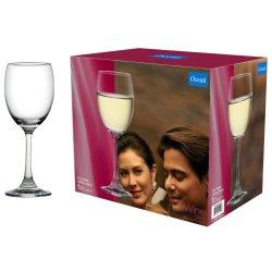 OCEAN 255ML Duchess White Wine Glasses 6 Pack