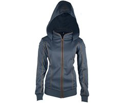 Ubi Workshop Assassin's Creed Movie Maria Hoodie Women Official Ubisoft Collection By Medium Blue