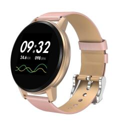 S01 1.22 Inch Ips Display Color Screen Smart Bracelet IP67 Waterproof Support Call Reminder Heart Rate Monitoring blood Pressure Monitoring Sleep Monitoring blood Oxygen Monitoring Gold