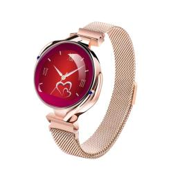 Z38 1.04 Inch Ips Color Screen Women Smart Watch IP67 Waterproof Support Call Reminder heart Rate Monitoring blood Pressure Monitoring sleep Monitoring Gold