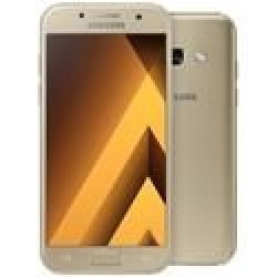 "Samsung Galaxy A3 4.7"" 16GB Android Smartphone 2017 Gold"