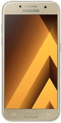 """Samsung Galaxy A3 4.7"""" 16GB Android Smartphone 2017 Gold"""