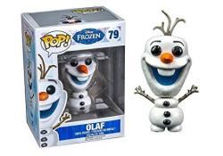 Disney Frozen Glitter Olaf The Snowman Pop Vinyl Figure