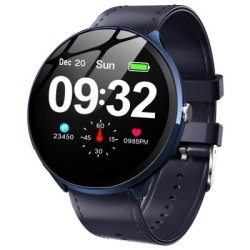 V12 Kospet Leather Smart Watch