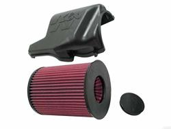 K&N Cold Air Intake Kit: High Performance Guaranteed To Increase Horsepower: 2007-2018 Ford volvo mazda C-max Focus Grand Transi