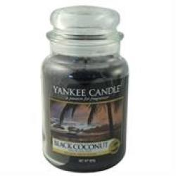 Yankee Candle Black Coconut Large Jar Retail Box No Warranty product Overview:experience The Authentic True-to-life Fragrance With Pure Natural Plant Extracts And Renowned Candle