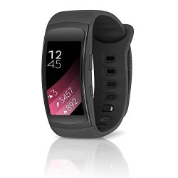 Samsung Gear FIT2 Sm- Gps Large Sports Band Smartwatch - Certified Refurbished