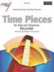 Time Pieces for Descant soprano Recorder, v. 2