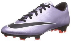 Nike Mercurial Victory V Fg Mens Football Boots 651632 Soccer Cleats Firm Ground Us 8.5 Urban Lilac Black Bright Mango White 580