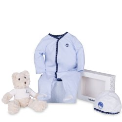 Timberland Baby Pyjama And Hat Set