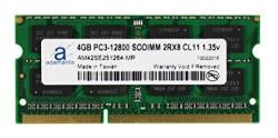 Adamanta 4GB 1X4GB Laptop Memory Upgrade Compatible For Dell Latitude 3450 DDR3L 1600MHZ PC3L-12800 Sodimm 2RX8 CL11 1.35V Notebook RAM Dram