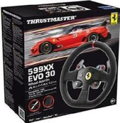 Thrustmaster 599XX Evo 30 Wheel Add-on Alcantara Edition Xbox ONE PS4 PS3 PC - Compatible With All Racing Wheels Featuring A Detachable Wheel Playstation 4