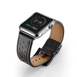 EloBeth For Apple Watch Band Iwatch Band Apple Watch Leather Band Iwatch Band Genuine Leather Band Bracelet Wrist Watch Band With Adapter For Apple