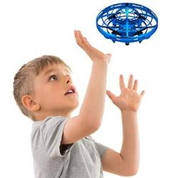 HAND Operated Drones For Kids Or Adults - Scoot S Free MINI Drone Helicopter Easy Indoor Small Orb Flying Ball Drone Toys For Bo
