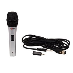 Axess MP1506 Professional Wired Dynmic Karaoke Handheld Microphone