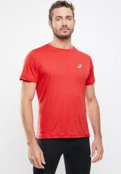 ASICS Silver Ss Top - Classic Red