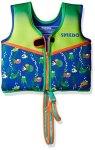 Speedo Kids Upf 50+ Begin To Swim Printed Neoprene Swim Vest Sapphire Blue Medium