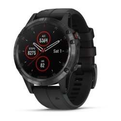 Garmin Fenix 5 Plus Sapphire in Black with Black Band