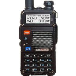 BAOFENG Bf-f8hp Uv-5r 3rd Gen 8-watt Dual Band Two-way Radio 136-174mhz Vhf & 400-520mhz Uhf Includes Full Kit With Large Batter