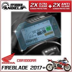 Dashboard Screen Protectors CB300R 2018 2 x Ultra-Clear /& 2 x Anti-Glare