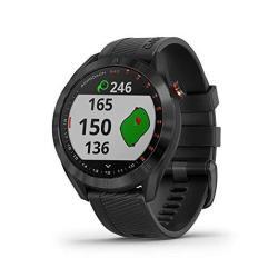 Garmin Approach S40 Stylish Gps Golf Smartwatch Lightweight With Touchscreen Display Black