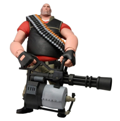Neca Team Fortress 2: 7 The Heavy Ultra Deluxe Action Figure Red