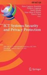 Ict Systems Security And Privacy Protection - 29TH Ifip Tc 11 International Conference Sec 2014 Marrakech Morocco June 2-4 2014