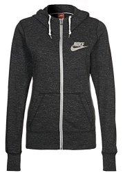Nike Women's Gym Vintage Full-zip Hoodie Jacket Black sail Black sail Medium