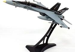 USA Boeing F A-18E F-18 Super Hornet VFA-137 Kestrels - 1 72 Scale Diecast Model - Metal Display Stand Included