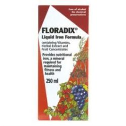 Peppina Floradix Liquid Iron Formula 250ML