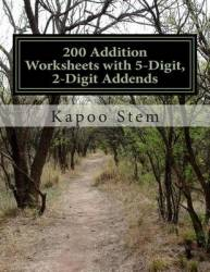 200 Addition Worksheets With 5-digit 2-digit Addends