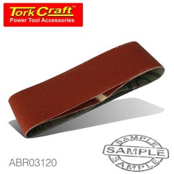 Sanding Belt 60 X 400MM 120GRIT 2 PACK For Triton Palm Sander