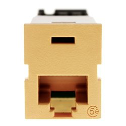Pass & Seymour Legrand PS58-OR CAT5E Keystone Jack RJ45 Utp C5E Orange 10 Pack