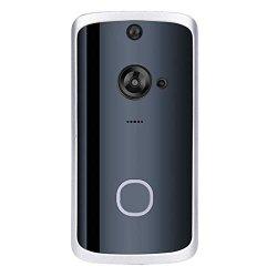 Ciyoon 2019 Wifi Smart Video Doorbell Wireless Door Bell Smart Home 1080P HD Wifi Camera Security With Two-way Talk & Video Pir Motion Detection