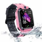 Themoemoe Kids Smartwatch Phone Kids Gps Track Watch Waterproof Smart Watch For Kids 3-14 With Sos Anti-lost Sim Card Smartwatch
