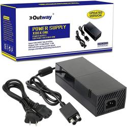 Updated Version Oem Ac Adapter Charger Power Supply For Xbox One Console With Cord Cable