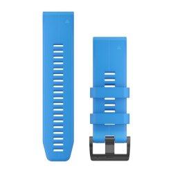 Garmin Quickfit 26MM - Cyan Blue Silicone Band