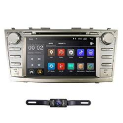 Android 8.1 Quad Core Car DVD Player Toyota Camry 2007-2011 Aurion 2006-2011 8 Inch Screen Gps Navi Bt Radio Rds Dtv USB Android