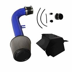 CPT Cold Air Intake Blue - For 15-18 Vw Volkswagen Golf GTI 2.0T Turbo Tsi 4CYL -499-B