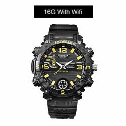 Outdoor Sports Smart Watch Million HD Waterproof Camera Wifi Remote LED Lighting 720PHD High Definition Smartwatch 5MP IPX7 Pedometer Heart Rate Monitor Photography Sport