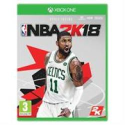XBOX One Game: Nba 2K18 Retail Box No Warranty On Software