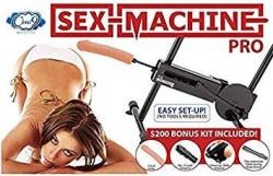 Cloud 9 Novelties Sex Machine Pro Updated Version With Suction Cups And Kit