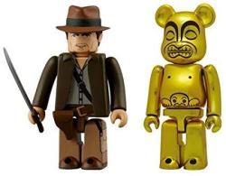 Indiana Jones Tm Kubrick & Goldenidol Be@rbrick Set