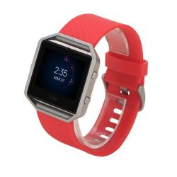 Killerdeals Men's Silicone Strap For Fitbit Blaze - Red