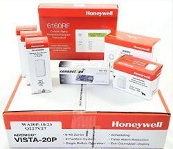 Alarm Liquidators Honeywell Vista 20P Wireless Self Monitoring Kit With A 6160RF Keypad One 5800PIR-RES Motion Sensor One EVL-4C